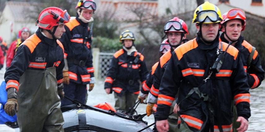 Reportage photo Tempête Xynthia en Vendée