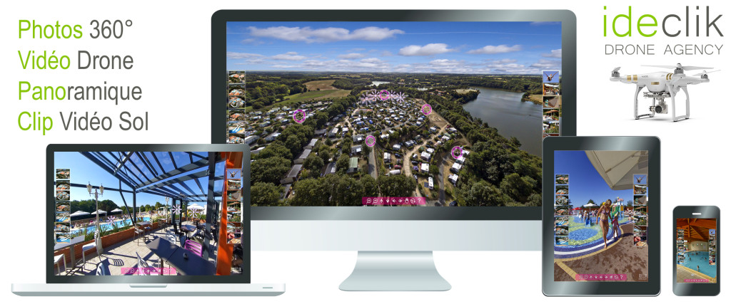 visite virtuelle vendée 360 drone