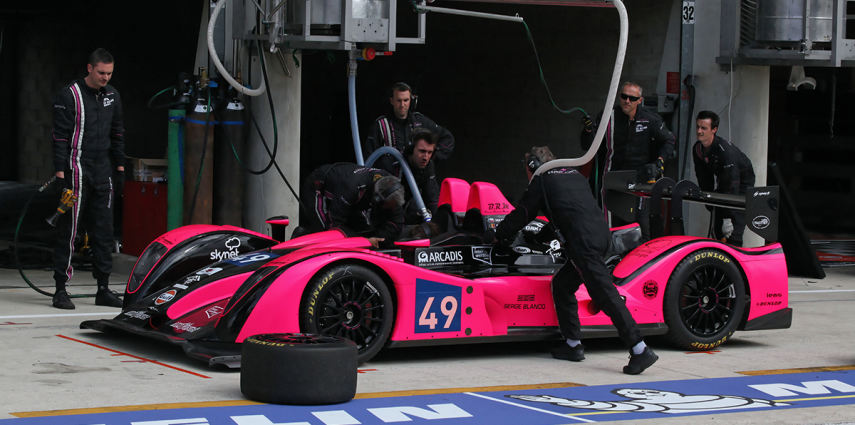 Reportage photo OAK Racing au Bugatti du Mans