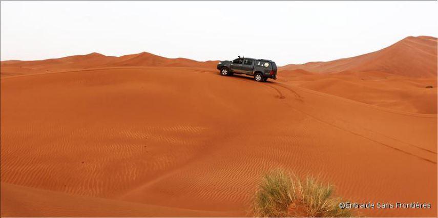 Reportage photo dunes de Merzouga