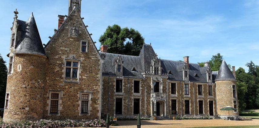 Raout au château de Cheronne
